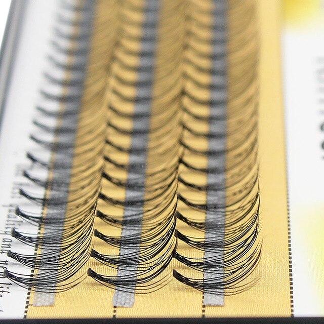 Kimcci 60knots/Case Natural False Eyelash Extension Makeup 10D Mink Individual Faux Eye Lashes Professional Fake Grafting Cilias 4