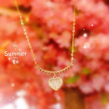 Sa silverage 18k gold stylish pendants necklace choker weighs
