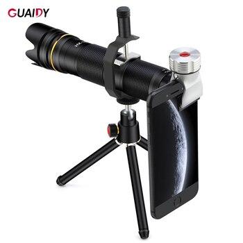 35X Remote Control 4K Smartphone Lens HD Super Wide Angle Telephoto For Samsung Xiaomi Universal Telescope Macro Zoom Camera
