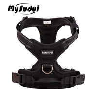 Truelove Pet Dog Harness Large Small For Pitbull Reflective Safety Harness For Dogs Car Harness Dog Sport No Pull Vest Husky