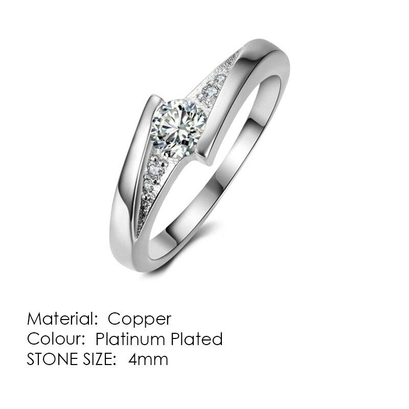 ZHOUYANG кольцо для женщин, простой стиль, кубический цирконий, свадебное кольцо, светильник, золотой цвет, модное ювелирное изделие KBR103 - Цвет основного камня: R504