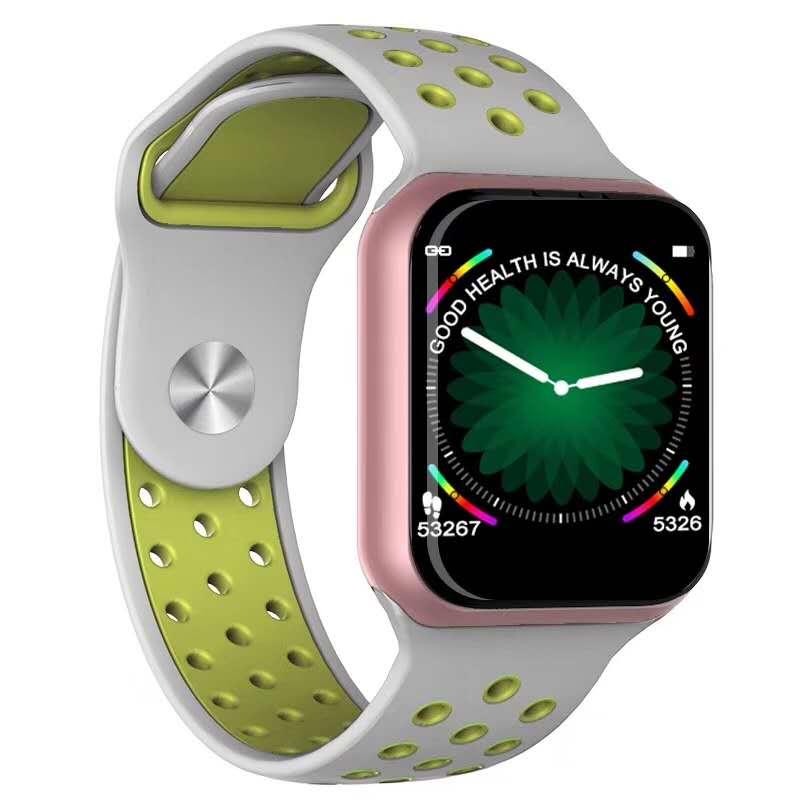 F8 Inteligente Relógio Das Mulheres Dos Homens Pulseira Pulseira De Fitness Rastreador SmartWatch da Pressão Arterial Para IOS Pk iwo 8 B57 S226 Inteligente faixa de relógio