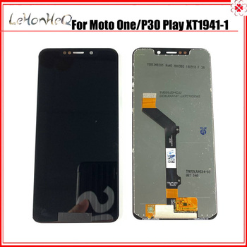 For Motorola Moto One/P30 Play LCD Display Touch Screen Digitizer For Moto P30 Play XT1941-1 XT1941-3 XT1941-4 LCD Replacement image
