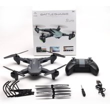 цена на XS816 WiFi FPV RC Drone Optical Flow 4K HD Camera Smart RC Aircraft Foldable Selfie Drone VS XS809S XS809HW SG106 RC Quadcopter