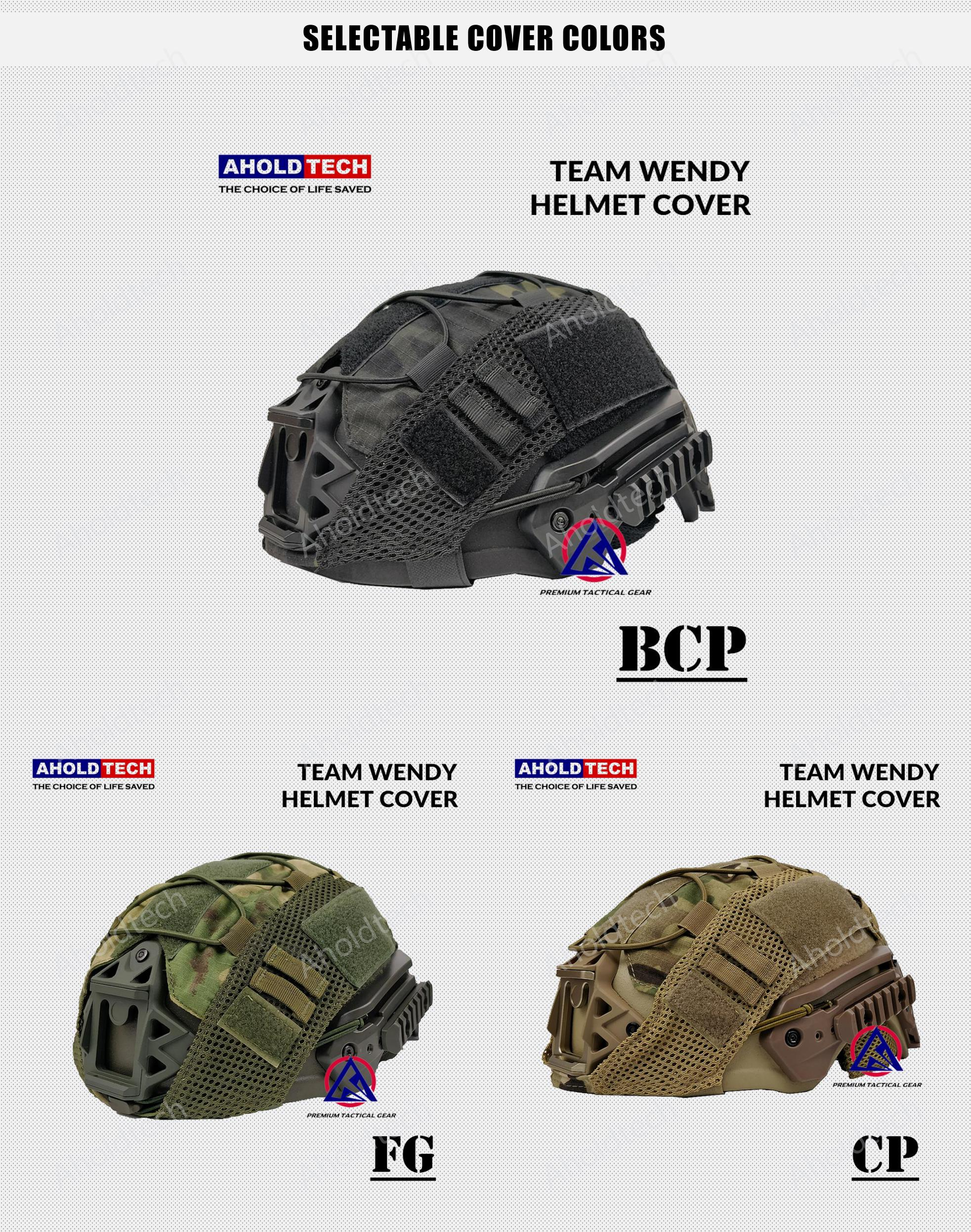 Mulitcam Team Wendy High Cut FAST MICH Ballistic Bulletproof Helmet Cover Cap With Elastic Rope For Tactical Army