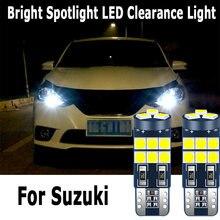 1 Uds W5W T10 2825 Canbus coche Auto LED liquidación de bombillas para Suzuki Swift Vitara SX4 Kizashi carro Jimny Grand Vitara Samurai
