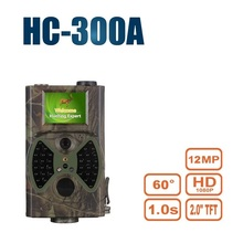 SUNTEKCAM Trail Hunting Camera Scouting 1080P 12MP Infrared Cameras HC300A Night Vision Outdoor Hunter Cam Solar Panel Charger стоимость