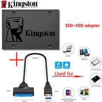 """Kingston A400 SSD 120 GB 240 GB 480GB 960GB SATA 3 2,5 """"HDD Festplatte SDD für notebook mit Adapter Sata USB oder HDD Gehäuse"""