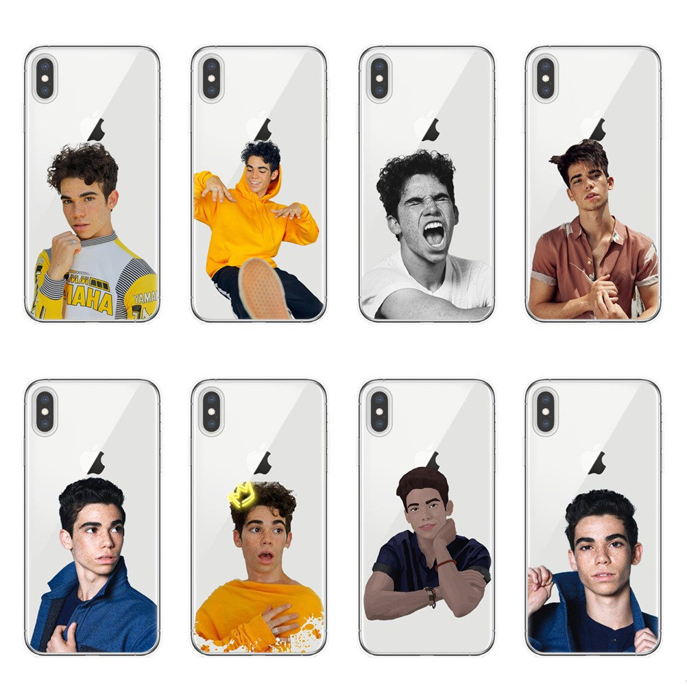 Clear Soft Silicone Descendants3 Cameron Boyce Phone Case For iPhone 5S SE 6 S 7 8 Plus X Xs Max Xr Grown Ups 2 Covers Fundas image