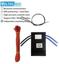 חכם BMS 14S ~ 24S 150A עם 1A פעיל איזון סוללה הגנת לוח Bluetooth טלפון APP Lifepo4 ליתיום LTO 16S 20S