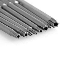 8 X Set 100mm Magnetic Torx Screwdriver Bit Hex Shank T8 T10 T15 T20 T25 T30 T40|Screwdriver|   -