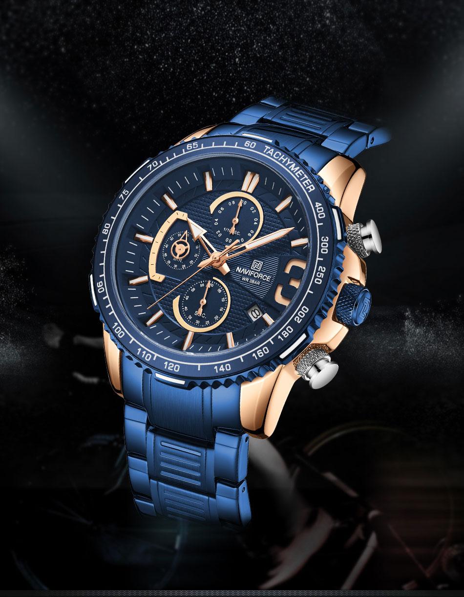 Naviforce NF 8017 Men's Watch 6