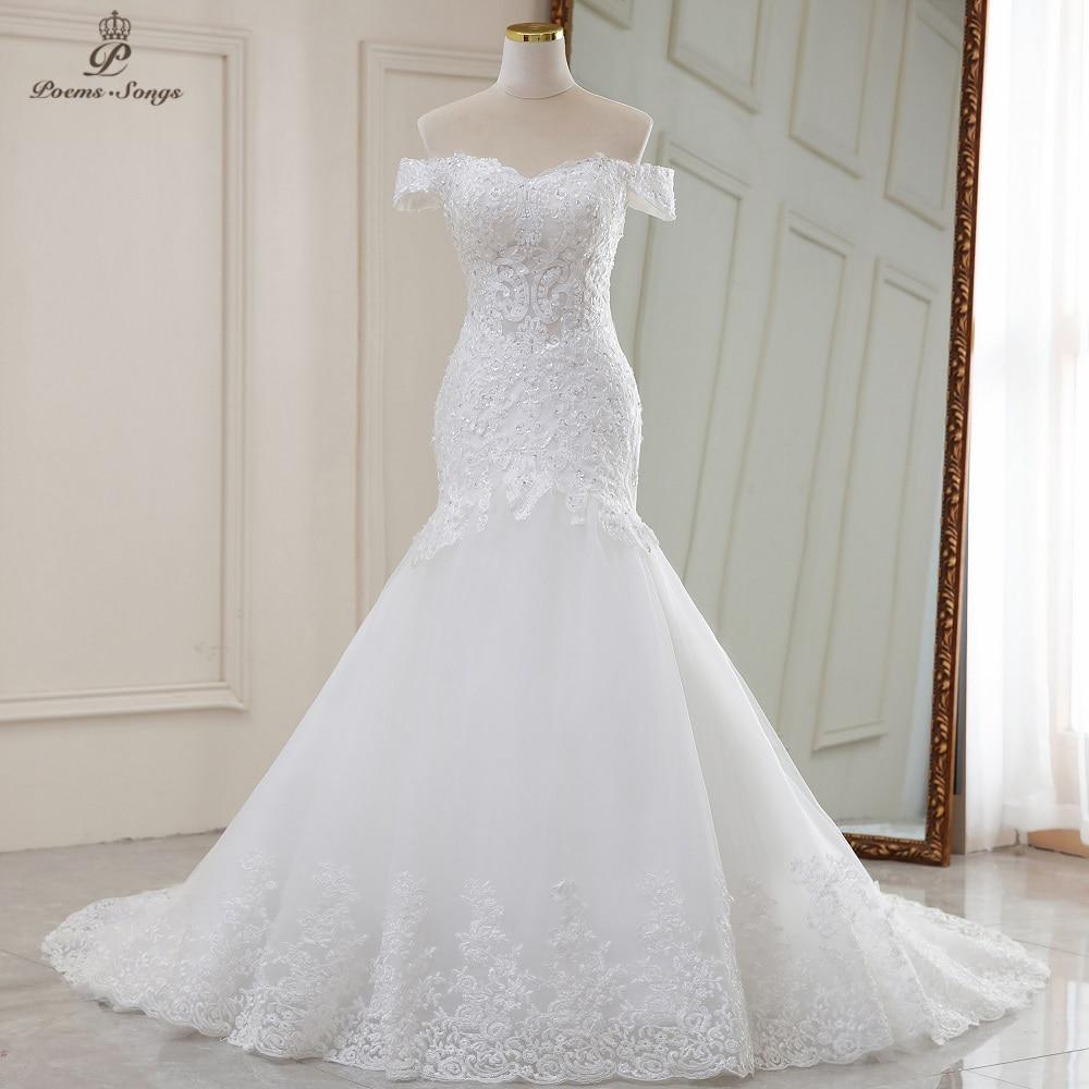 Luxury Sexy style mermaid wedding dress 1