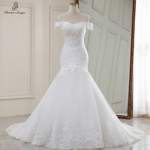 Wedding-Dresses Robe-De-Mariee Mermaid Luxury Real Video No Sereia Vestidos-De-Novia