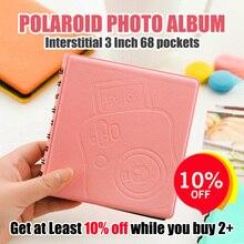68 Pockets Thống Ảnh Tức Thì Album Hình Ảnh Trường Hợp đối với Fujifilm Instax Phim 7 s 8 25 50 s 70 90