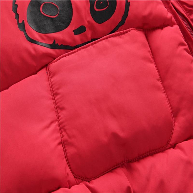 Baby jumpsuit down jacket Newborn Baby Boy Girl Cartoon Winter Warm Thick Jumpsuit Hooded Coat Outwear #4AA22 (18)