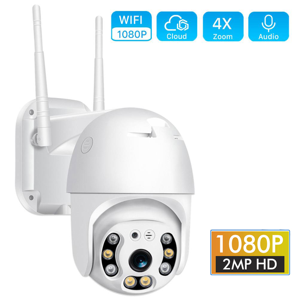 1080P Cloud Storage Wireless WIFI Camera Outdoor PTZ IP Camera Speed Dome CCTV Security Cameras P2P Camara WIFI Exterior Ipcam