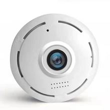 Indoor two way audio 2.0MP fisheye VR camera WiFi panoramic 1080P mini motion detection alarm home security camera