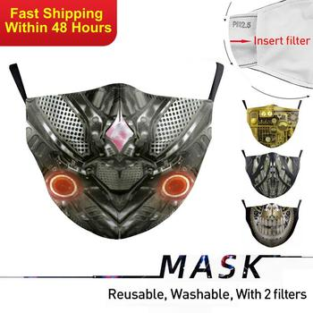 Zawaland Adults Universal Washable Face Mouth Mask Anti-dust proof Breathable Protective PM2.5 Filter Windproof Mouth-muffle