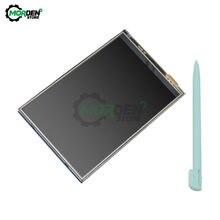 3.5 Cal wyświetlacz TFT LCD ekran z 4 Panel dotykowy dla RPi1/RPi2/Raspberry pi3 pokładzie V3 320*480 320x480