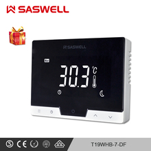 SASWELL Smart Thermostat Temperature Controller for Waterfloor Heating Water/Gas Boiler work with SCU210/SCU209 tesos taisuo xmt 6000 smart table xmtd 6411 temperature controller