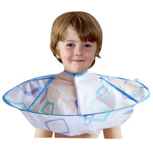 Haircut Gown Apron Kids Boy Hair Cutting Cape Gown Hairdresser Barber Hairdressing Clothes Children Hairdresser Cloak Umbrella(China)