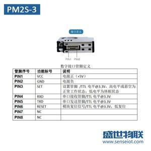 Image 4 - PM2S 3 PM2.5 Laser Dust Sensor Module Indoor Gas Detection Original Positive PMS9003M