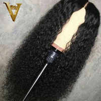 13x6 Curly Lace Front Human Hair Wigs Pre Plucked With Baby Hair Brazilian Remy Water Wave Lace Front Wig For Black Women