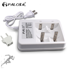 Palo Smart Indicatore Display A LED C D AA AAA Battery Charger Per 1.2V NiCd NiMh AA AAA C D batteria ricaricabile caricabatterie Rapido