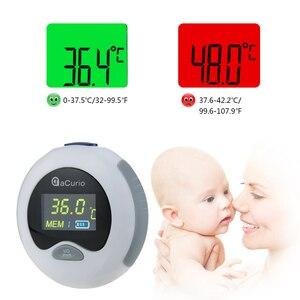 Image 1 - אוזן מדחום דיגיטלי אינפרא אדום LCD טמפרטורת צג מיני אוזן מדחום עבור תינוק ילדים מבוגרים