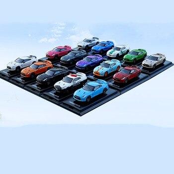 Diecast 164 Schaal Legering Model Auto R35 Kyosho Gegoten Simulatie Voertuig Model Auto Ornamenten Volwassen Collectie Display Jongen Speelgoed