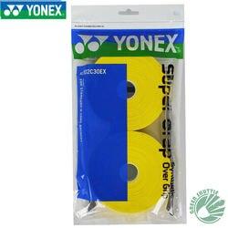 Accesorios originales para raqueta de Bádminton de deporte de lonex AC102C30EX 30 agarres