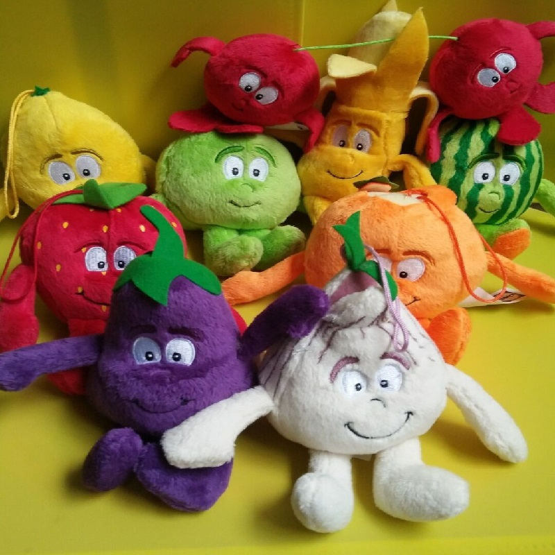 10CM New Fruits Vegetables 20CM Forest Animals Goodnessgang Soft Plush Doll Toys For Kids Dropshipping