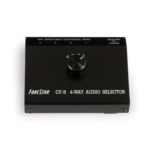 Sélecteur RCA Audio 4 entrées à 1 sorties