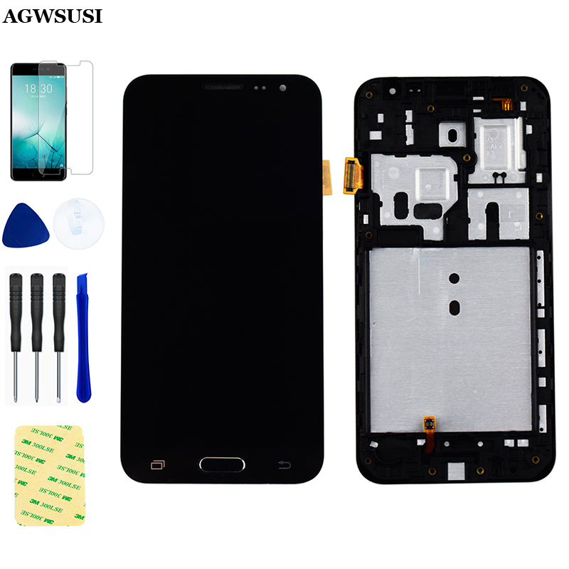 For Samsung Galaxy J3 2016 LCD Touch J320 J320F LCD Screen J320FN J320M J320H LCD Display Touch Screen Digitizer Assembly Frame