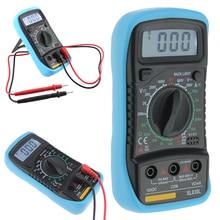 XL830L Handheld Digital Multimeter LCD Portable AC/DC Ammeter Voltmeter Ohm Voltage Tester Multimetro Professional Multimeter