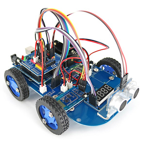 Image 2 - N20 Gear Motor 4WD Bluetooth Controllato Intelligente Robot Car Kit con Tutorial per Arduino