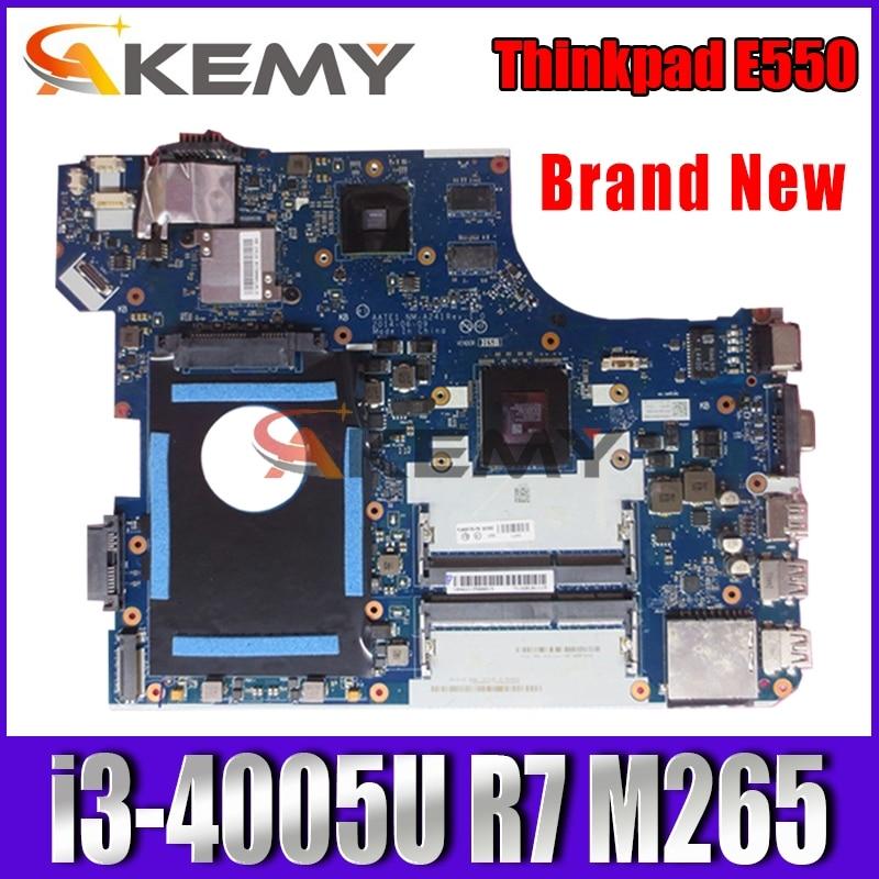 NEW!  NM-A221 Motherboard For Lenovo Thinkpad E550 E550C NM-A221 Laotop Mainboard with i3-4005U CPU R7 M265 GPU