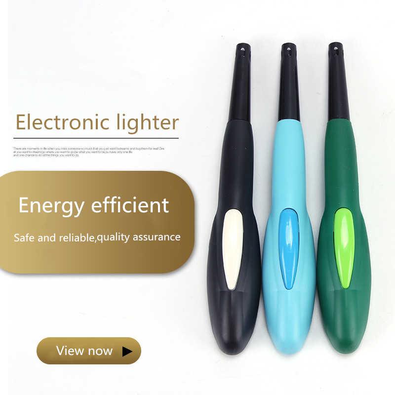 2020 חם חדש 1pcs אש Starter Ignitor דופק נייד גז הצתה מצית מנגל קוק פלסטיק אלקטרוני מטבח צורב