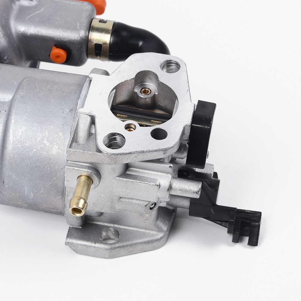 Karbüratör Carb Honda GX160 2KW 168F su pompası çift yakıt jeneratör araba motosiklet kar temizleme makinası testere aksesuarları