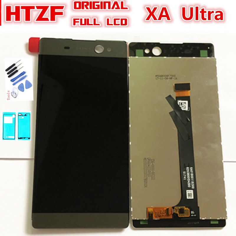 Original LCD For SONY Xperia C6 XA Ultra LCD Display Touch Screen Digitizer Replacement Parts For SONY F3211 F3212 F3215 LCD