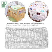 Baby Diaper Changing Mat Pad Table Cover Soft Breathable Waterproof Reusable For Newborn Infant