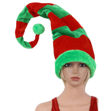 Hat Christmas-Hat Santa-Claus Adult 60x90cm Xmas-Party-Supplies Clown-Elf-Cap Plush Felt