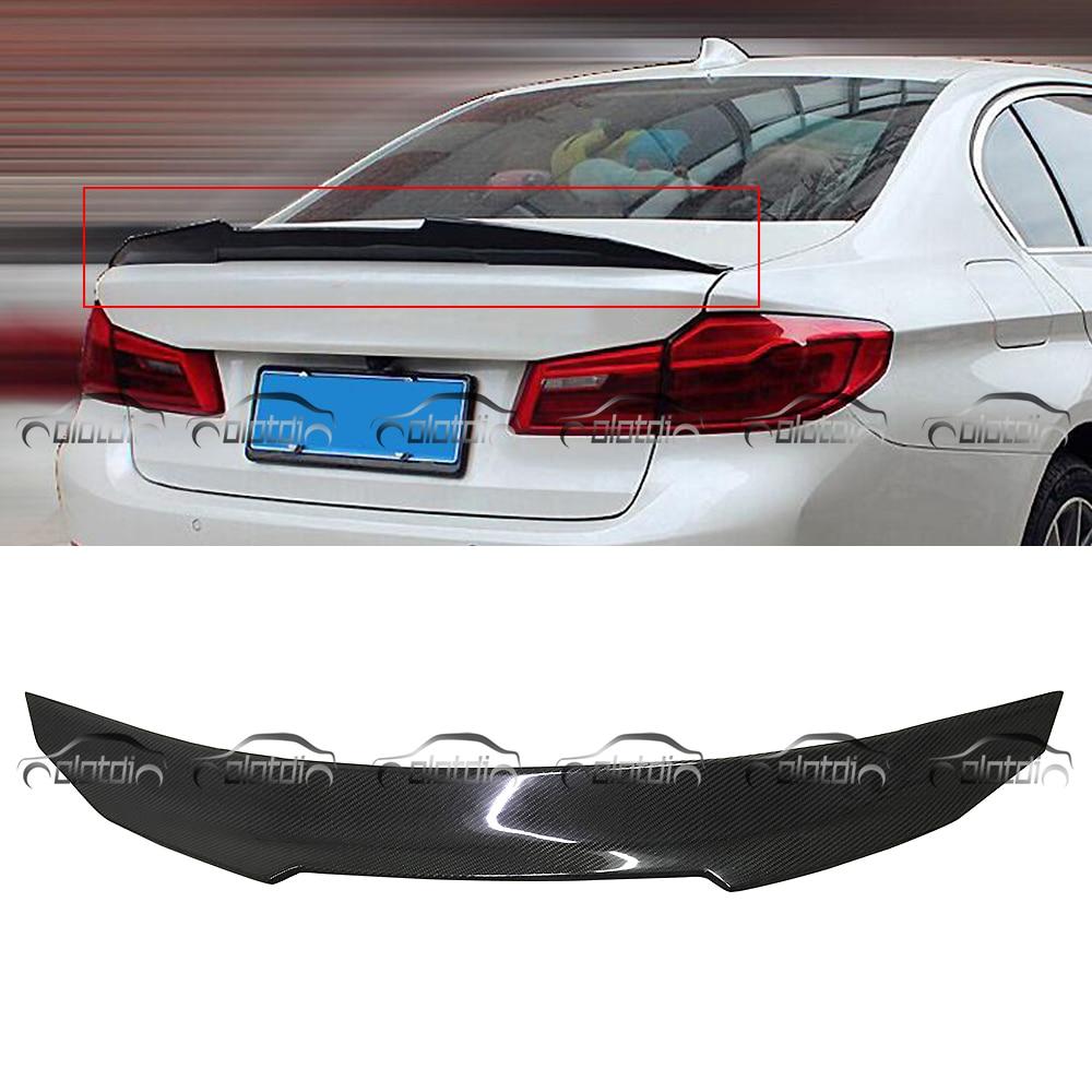 Aileron de coffre arrière en Fiber de carbone pour BMW E60