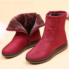 Women Boots Winter Shoes Women Plus Insole Snow Boots High Quality Fur Ankle Boots for Women Waterproof Winter shoes цена 2017