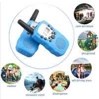 2PCS 3-5km Range Two Way Walkie Talkies Radio Interphone Toys for Children Kids Outdoor Walking Camping Gifts