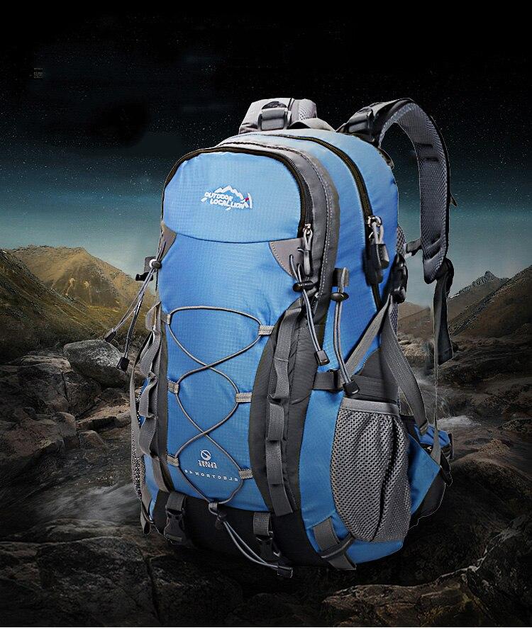40l ao ar livre mochila de escalada
