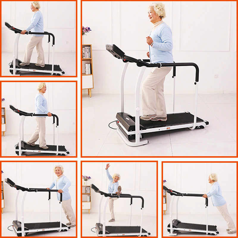 tapis de marche a domicile pour personnes agees machine de reeducation exercice de fitness a domicile recuperation des membres entrainement en
