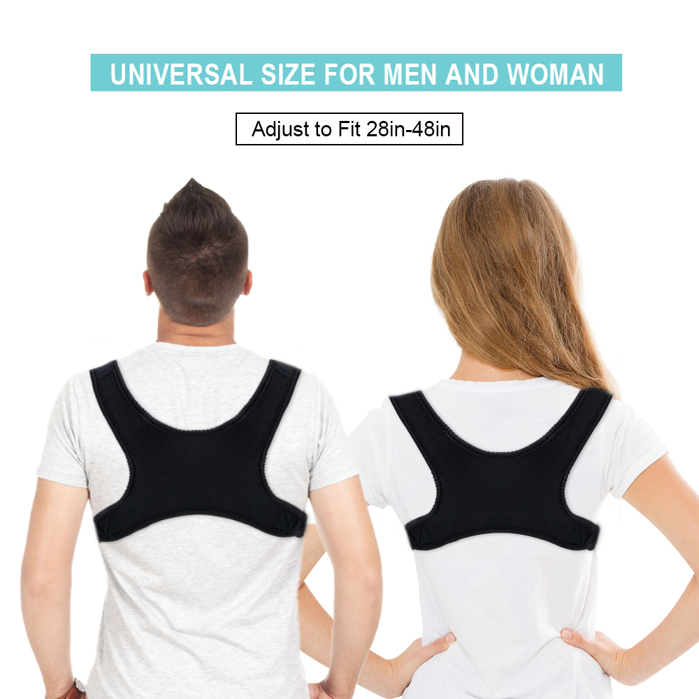 New Spine Posture Corrector Back Pain Shoulder Posture Correction Belt Humpback Back Pain Relief Corrector Brace For Women Men