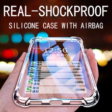Luxury Shockproof Silicone Phone Case For iPhone 12 MINI 12 Pro 7 8 6 6S Plus X 11 Pro XS Max XR SE 2020 Cases Soft Back Cover
